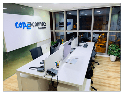 cap connect headquarter Tangier Morocco